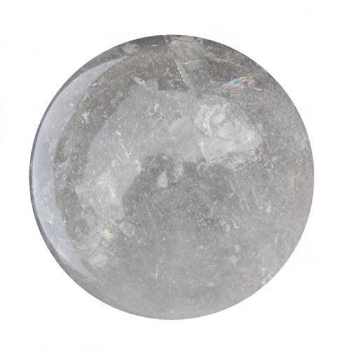 Rock Quartz Crystal Ball Scrying Gazing Fortune Telling Sphere 68mm 455g CB1